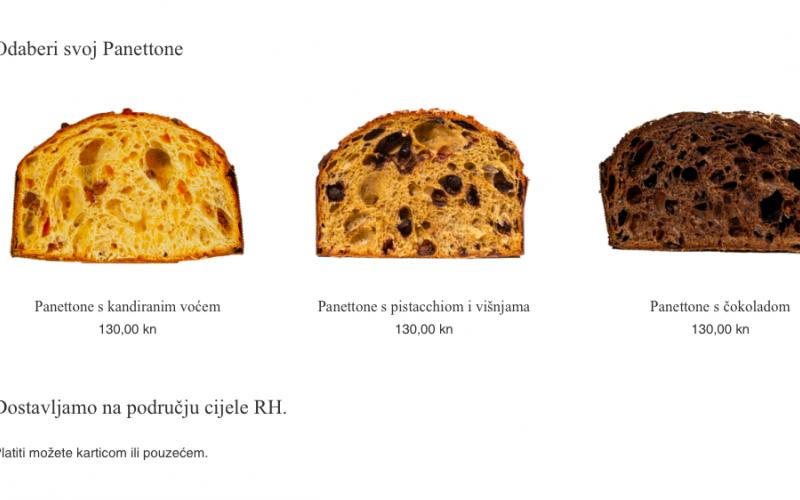 Web shop za Panettone je online!