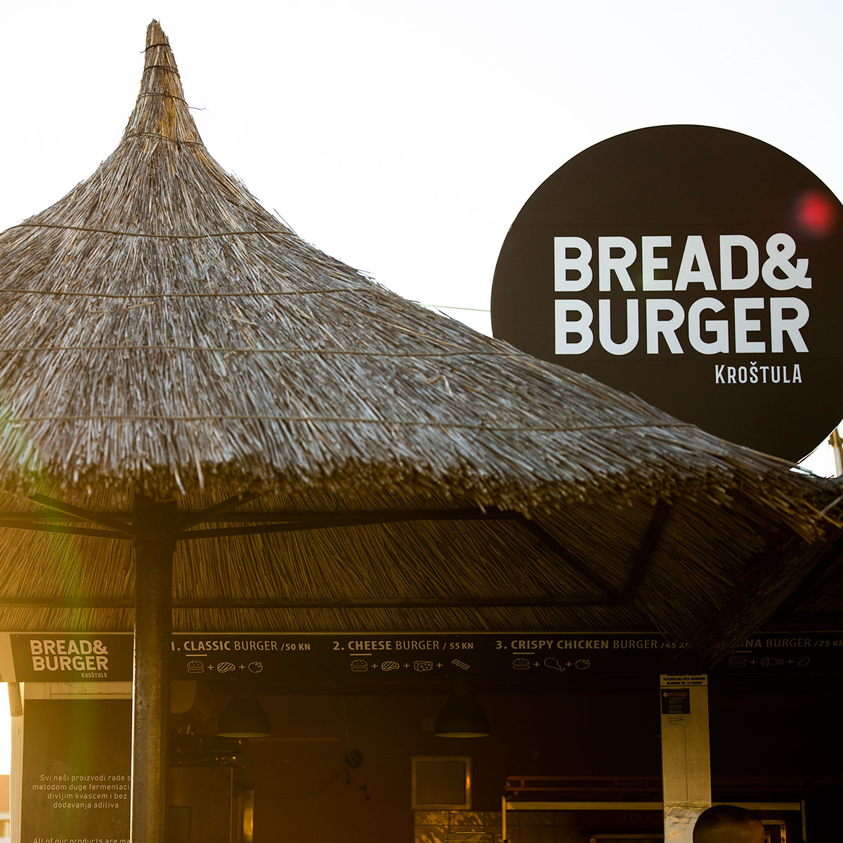 Bread & burger by Kroštula Pakoštane